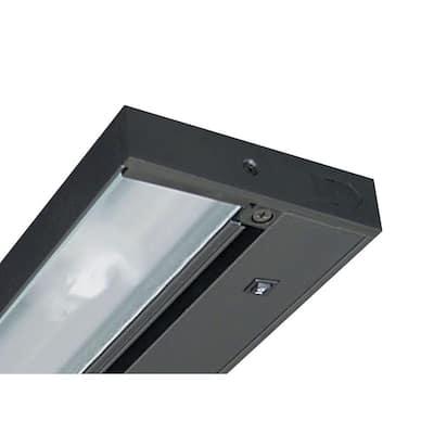 Pro-Series 14 in. Black Halogen Under Cabinet Light
