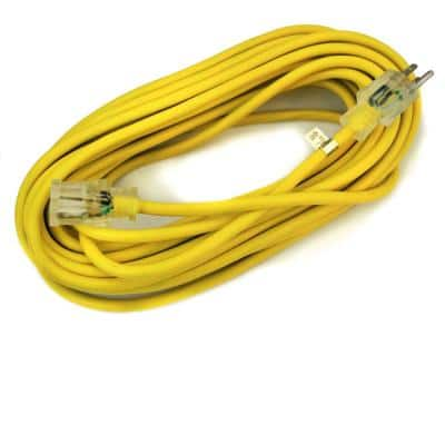 50 ft. 10/3-Gauge Electric Extension Power Cord Cable