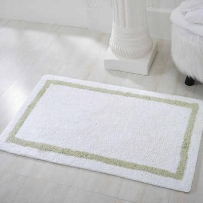 Plush Sage 2 ft. x 3 ft. Solid Transitional Area Rug