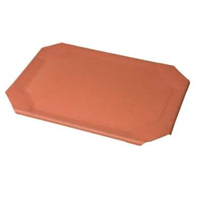 Large Size Pet Bed Replacement Cover Terracotta
