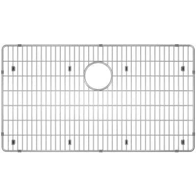 Crosstown 29.25 in. x 16.25 in. Bottom Grid for Kitchen Sink in Stainless Steel
