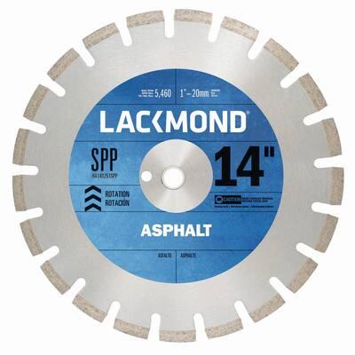 SPP Series Asphalt/Block Blade 14 in. x .125 in. - 1 in. 20 mm Arbor