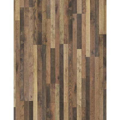 Bishop Manor Oak 7mm Thick x 7-2/3 in. Wide x 50-5/8 in. Length Laminate Flooring (24.17 sq. ft. / case)