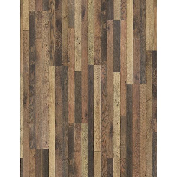 Trafficmaster Bi Manor Oak 7mm, 7mm Laminate Flooring Home Depot