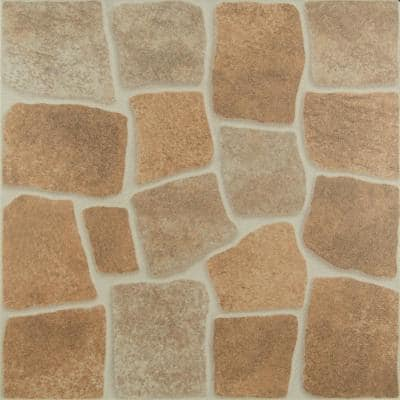 Canyon Rock 16 in. x 16 in. Ceramic Floor and Wall Tile (15.5 sq. ft. / case)