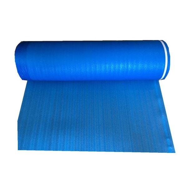 Dekorman Laminate Flooring Blue Foam, Foam Underlayment For Laminate Flooring Home Depot