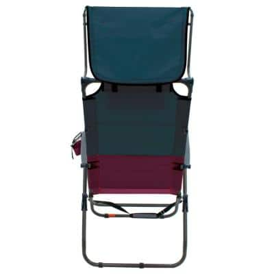 Hi-Boy 7-Position Steel Canopy Lawn Chair