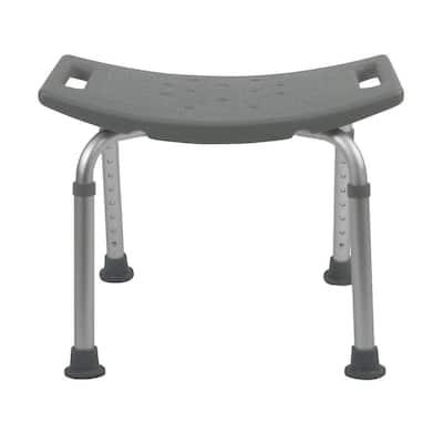 Bath Safety Bath Bench in Gray
