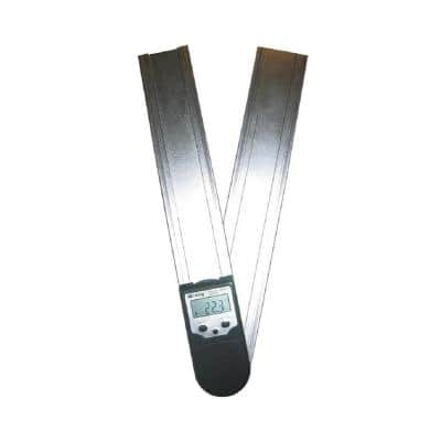 12 in. Digital Protractor Readout with Set Miter