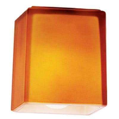 3 in. Amber Glass Shade