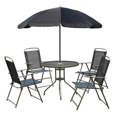 Bistro Sets Patio Dining Furniture, Outdoor Bistro Set With Umbrella