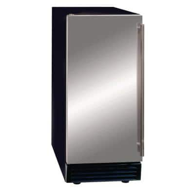 50lb Premium Indoor, Self-Contained Stainless Steel Ice Machine, Energy Star Rated, Built-in or Freestanding