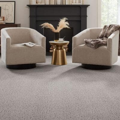 Chester-Color Classical Textured 12 ft. Carpet