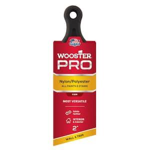 2 in. Pro Nylon/Polyester Short Handle Angle Sash Brush