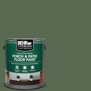 1 gal. #S390-7 Trailing Vine Low-Lustre Enamel Interior/Exterior Porch and Patio Floor Paint