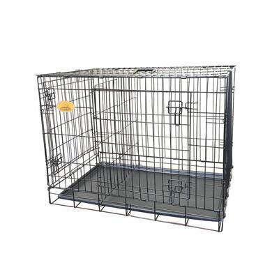 36 in. x 23 in. x 27 in. Medium Wire Dog Crate