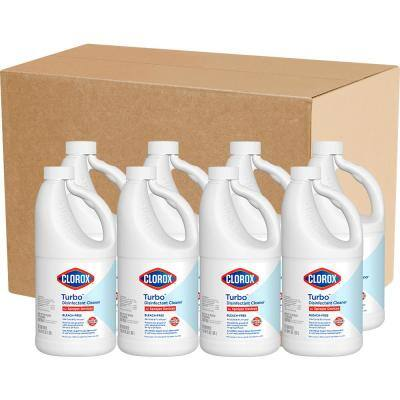 Turbo 64 oz. Bleach-Free Disinfectant Cleaner for Sprayer Devices (8-Pack)