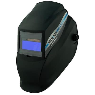 AB8100SC 9 -13 Shade Auto Darkening Welding Helmet With 3.62 in. x 1.36 in. viewing area