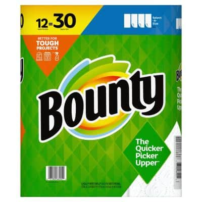 Select-A-Size White Paper Towels (12 Double Plus Rolls)