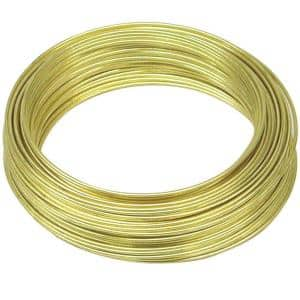 75 ft. 5 lb. 22-Gauge Brass Hobby Wire