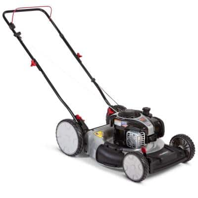 21 in. 140 cc Briggs & Stratton Gas Walk Behind Push Mower