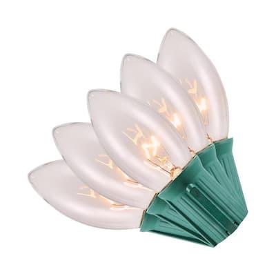 25 Light Incandescent C9 Lights (Set of 2)