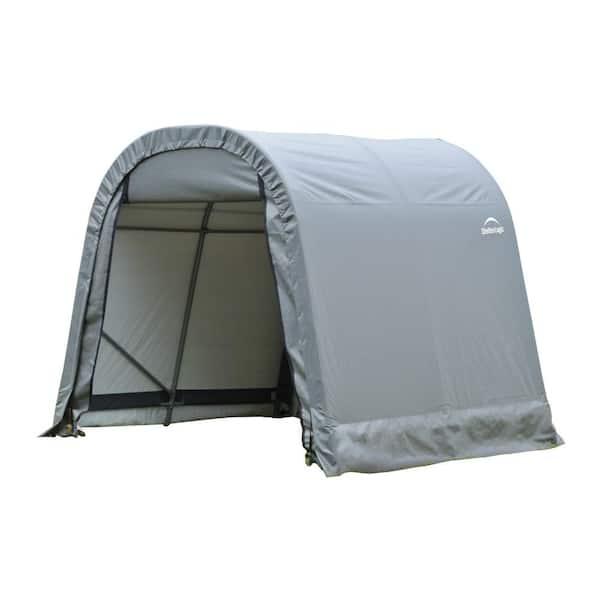 Shelterlogic Sheltercoat 8 Ft X 12, Portable Car Garage Home Depot