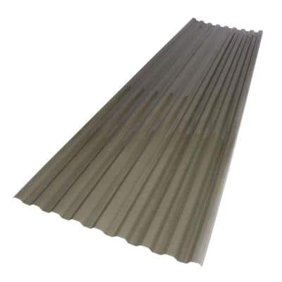 26 in. x 6 ft. Solar Grey Polycarbonate Roof Panel