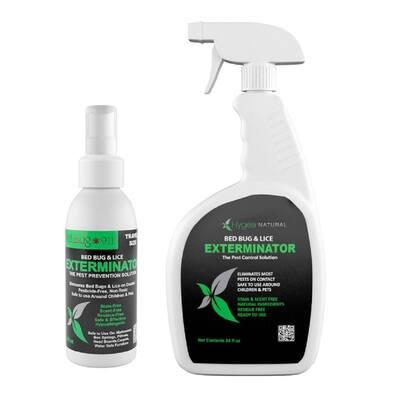 24 oz. Bed Bug Spray and 3 oz. Bed Bug Travel Spray Combo