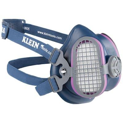 P100 Half-Mask Respirator, M/L
