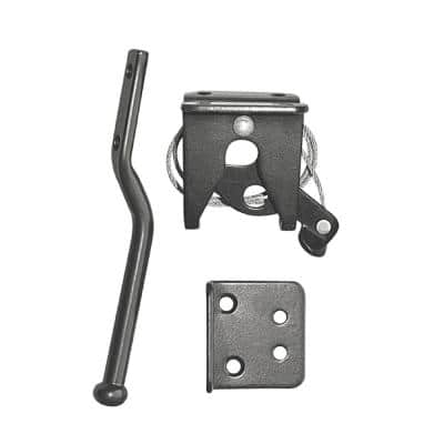 6.5 in. Spring Loaded Latch and Catch with Adjustable Cable