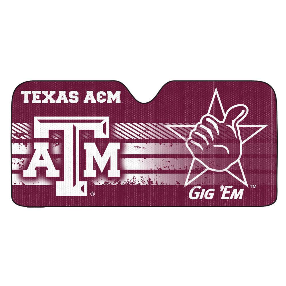 Texas A and M University Windshield Sun Shade