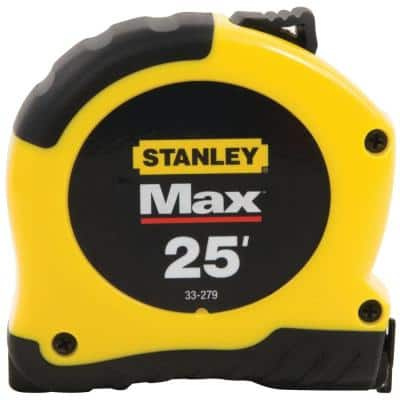 Max 25 ft. x 1-1/8 in. Tape Measure