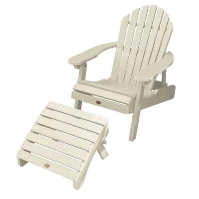 Hamilton Whitewash 2-Piece Recycled Plastic Outdoor Seating Set