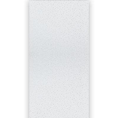 White Spray Mineral Fiber Ceiling Panels 2ft x 4 ft, (1-pallet contains 20-cases)
