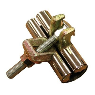 3 in. Stainless Steel 1-Bolt Pipe Repair Clamp for 1/2 in. IPS/SCH 40 and 3/4 in. CTS Nominal