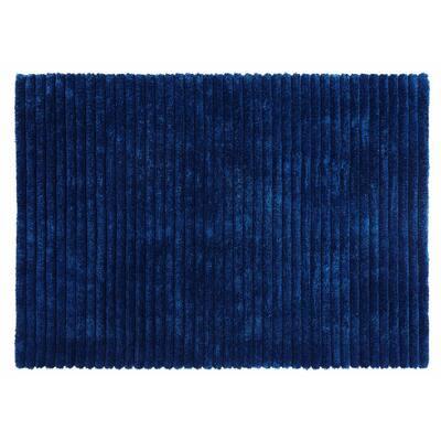 Microfiber Polyester Shag Teal 5 ft. x 7 ft. Lavish Area Rug