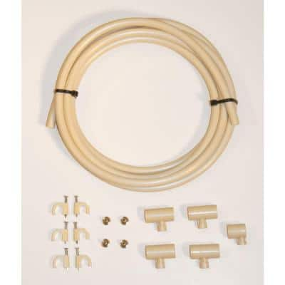 3/8 in. Outdoor Cooling/Misting Extension Kit with 4 Nozzles