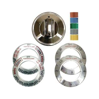 Electric Replacement Knob in Chrome (1-Pack)