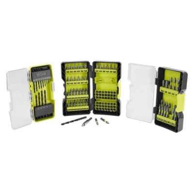 120-Piece Drill and Impact Rated Drive Kit