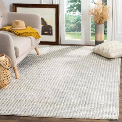 Natura Ivory/Silver 9 ft. x 12 ft. Area Rug