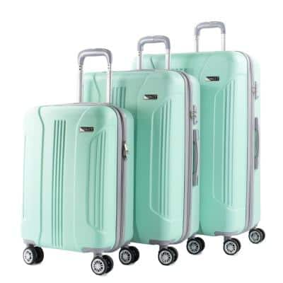 Denali 3-Piece Mint Expandable Hardside Spinner Luggage with TSA Locks
