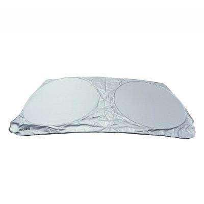 63 in. x 35.4 in. Car Windshield Sun Shade Made from Durable Reflective Polyester