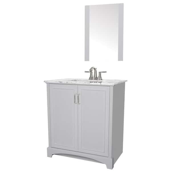 Sheffield Home Madison 30 In W X 19, Home Depot Bathroom Vanities 30