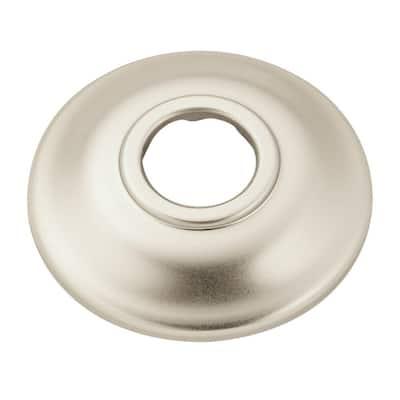 2.5 in. Shower Arm Flange in Brushed Nickel