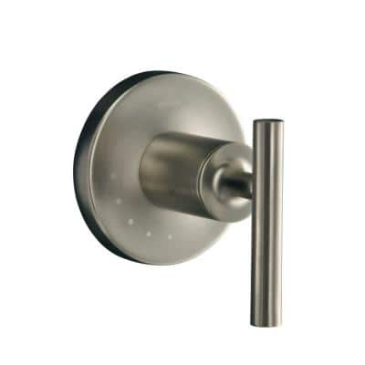Purist 1-Handle Volume Control Valve Trim Kit in Vibrant Brushed Nickel (Valve Not Included)