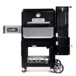Gravity Series 800 Digital Charcoal Griddle Plus Grill Plus Smoker in Black
