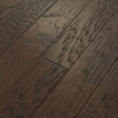 Canyon Hickory Shadow 3/8 in. T x 6-3/8 in. W x Varying Length Engineered Hardwood Flooring (30.48 sq. ft./case)