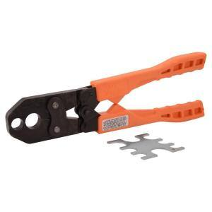 1/2 in. and 3/4 in. Dual PEX Copper Crimp Ring Tool