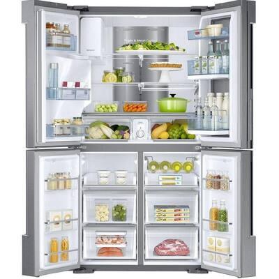 28 cu. ft. 4-Door Flex French Door Refrigerator in Stainless Steel